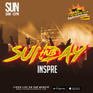 Sunday: HUBB Inspire/Inspire Sundaze on Di HUBB