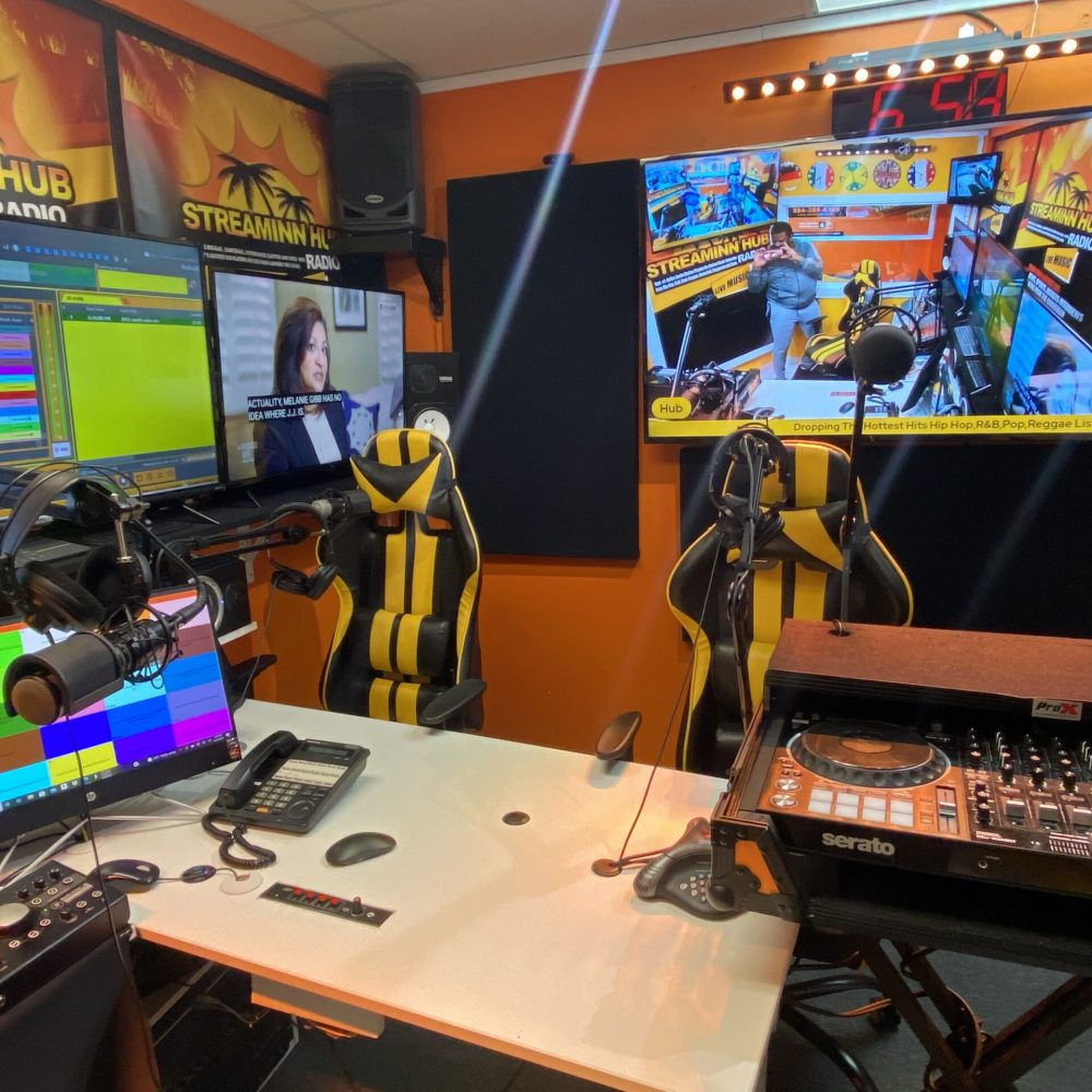Inside the Streaminn Hub studio