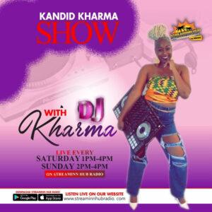 Kandid Kharma show with DJ Kharma LIVE